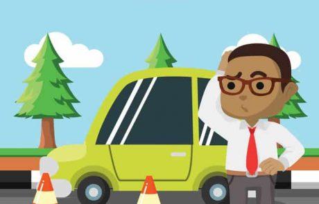תאונת דרכים בדרך לעבודה או מהעבודה הביתה – כתאונת עבודה בביטוח לאומי